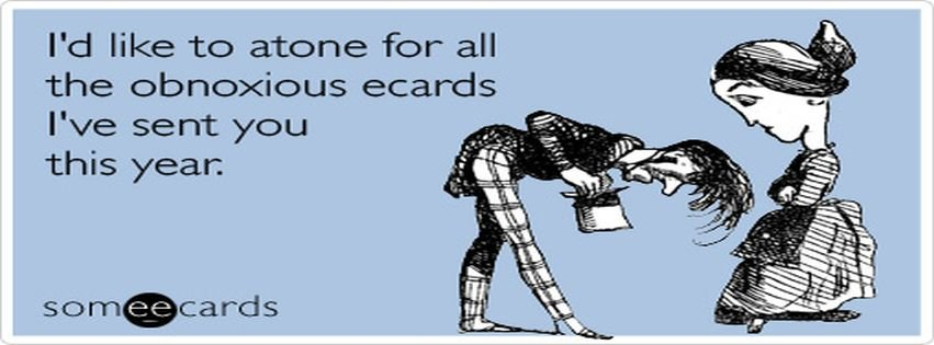 Jewish Atone Confession Yom Kippur Ecard Someecards For Facebook Cover