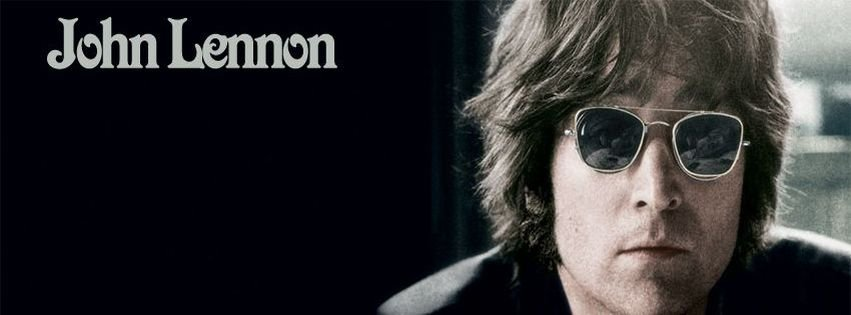 John Lennon Glasses Facebook Cover Downloads1 Created2013 01 02