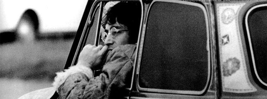 John Lennon Vw Bug Facebook Cover