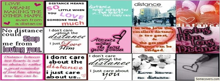 Long Distance Relationship Facebook Covers