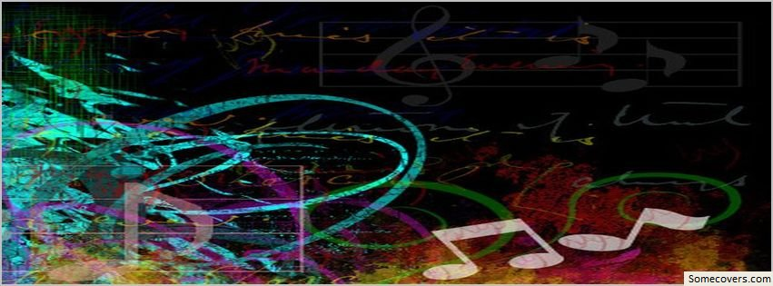 Music Notes 28 Design Facebook Timeline Cover Facebook