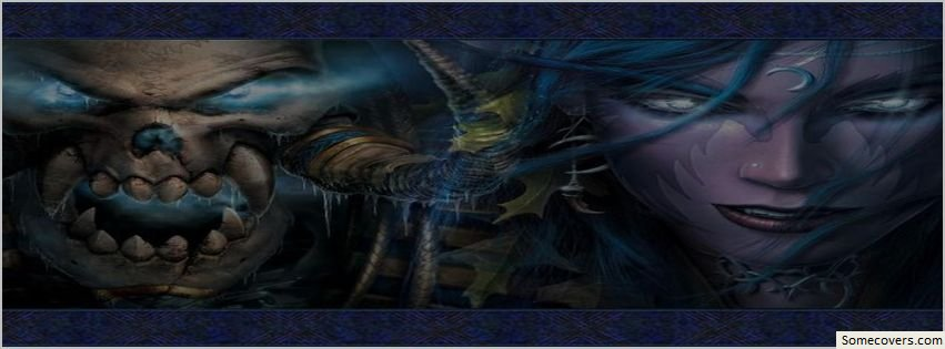 Dark Fantasy Facebook Covers: Night Elf Fantasy Dark Facebook Timeline Cover Facebook