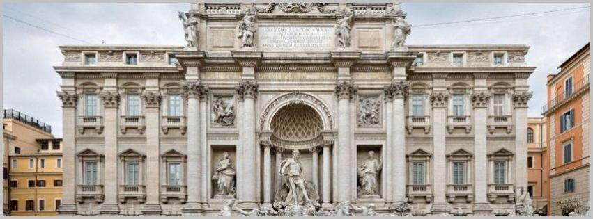 Trevi Fountain Rome-Italy