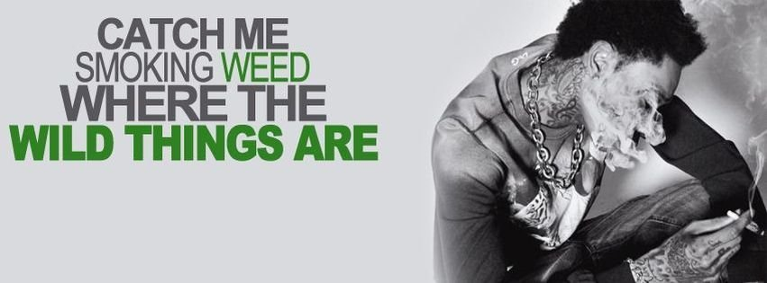 Weed Smoke Facebook Covers