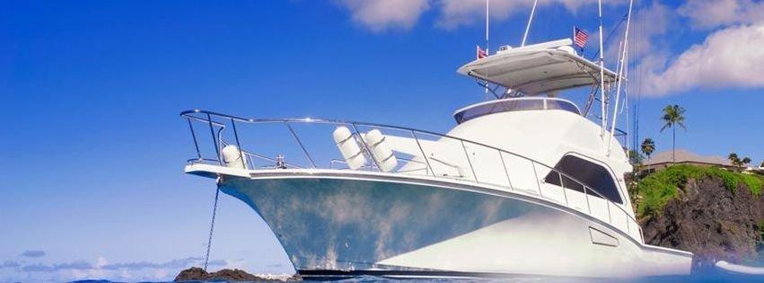 Yacht on the ocean facebook cover facebook covers myfbcovers for Covers from the ocean